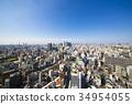 Cityscape towards Osaka Namba seen from Tsutenkaku 34954055