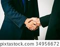 握手的商人 34956672
