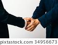 握手的商人 34956673