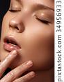 girl, woman, makeup 34956933