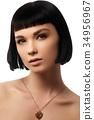 Beauty girl. Cosmetics & makeup. Beauty woman 34956967