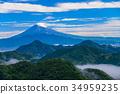 พืชสีเขียว,ภูเขาฟูจิ,ภูเขาไฟฟูจิ 34959235