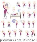 purple shirt old women White_sickness 34962323