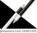 black and white pencils 34963305