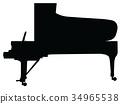 그랜드 피아노 34965538
