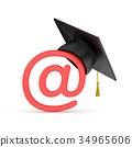 email, grad, hat 34965606