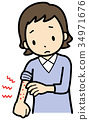 癢 皮膚疾病 女性 34971676
