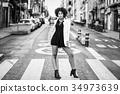 女人 女性 人行横道 34973639