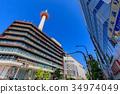 kyoto, kyoto tower, landmark 34974049