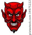 Devil Sports Mascot 34975222