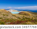 mount kusatsu-shirane, kettle, active volcano 34977768