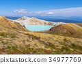 mount kusatsu-shirane, kettle, active volcano 34977769