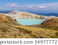 mount kusatsu-shirane, kettle, active volcano 34977772