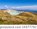 mount kusatsu-shirane, kettle, active volcano 34977782