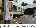 railway crossing, level crossing, a level crossing 34978652