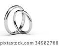 戒指 环 婚戒 34982768