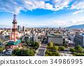城市景觀 札幌 札幌電視塔 34986995