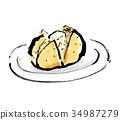 奶油土豆 土豆 马铃薯 34987279