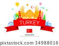 Turkey  Travel Landmarks. 34988016
