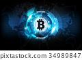 比特幣 貨幣 錢幣 34989847