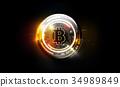 比特幣 貨幣 錢 34989849