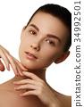 skin, girl, makeup 34992501