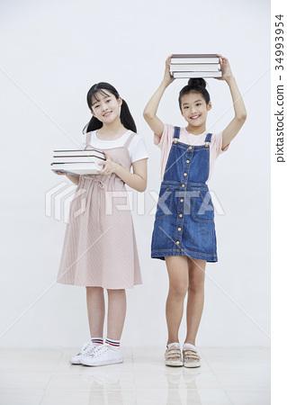 소녀,친구,10대 34993954