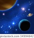 土星 星球 行星 34994642