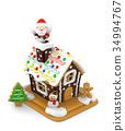 聖誕老公公 聖誕老人 聖誕時節 34994767