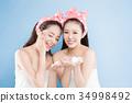 two beauty woman 34998492