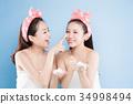 two beauty woman 34998494