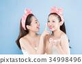 two beauty woman 34998496