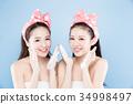 two beauty woman 34998497