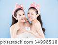 two beauty woman 34998518
