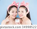 two beauty woman 34998522