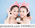 two beauty woman 34998523