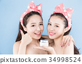 two beauty woman 34998524