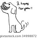狗十二生肖 34998872