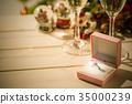 다이아몬드, 반지, 약혼 반지 35000239