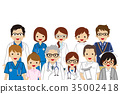 醫療服務人員 醫療和醫學 醫療 35002418