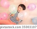 풍선과 어린이 35003107