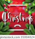 christmas background vector 35004024