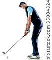 高尔夫 高尔夫球手 男性 35004324