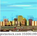 城市 城市风光 城市景观 35006199