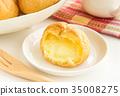奶油泡芙 甜点 甜品 35008275