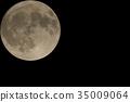 滿月 月夜 月亮 35009064
