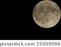 滿月 月夜 月亮 35009066