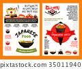 japanese food sushi 35011940