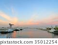 横滨 横滨港 海港 35012254