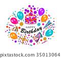 birthday, greeting, card 35013064